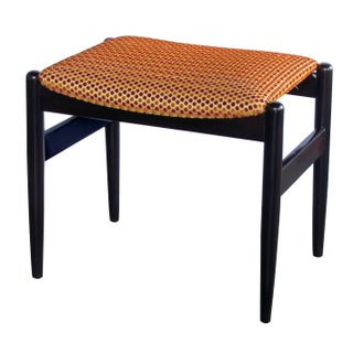 A Classic Pair of Danish Modern 1960's Deep-Brown Lacquered Benches/Stools Preview