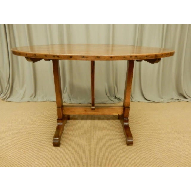 French Provincial Early 19th Century French Provincial Wine Table For Sale - Image 3 of 9