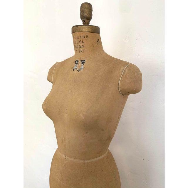 1950s Mannequin Adjustable Dress Form For Sale - Image 4 of 7