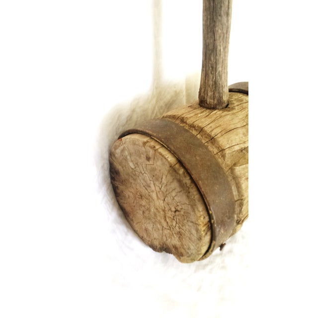 Primitive Strong Man Circus Mallet - Image 6 of 9