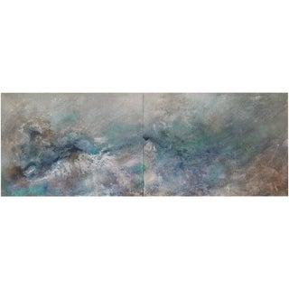 Sheryl Daane Chesnut, Earth Diptych (1), 2018 For Sale