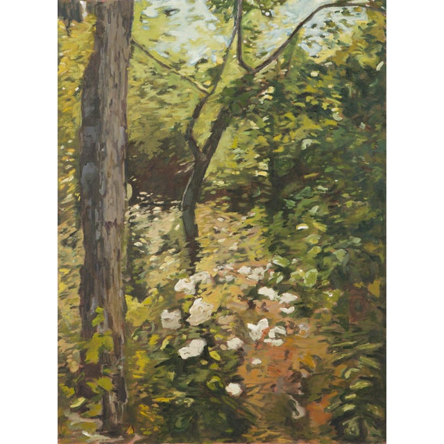 "Slater Sousley, ""The Woods Beckon"" Painting For Sale - Image 9 of 9"