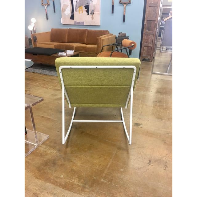 Gus Modern Gt Rocking Chair in Dandelion For Sale - Image 4 of 6