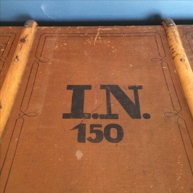 Leather Steamer Trunk by Albert Rosenhain - Image 4 of 11