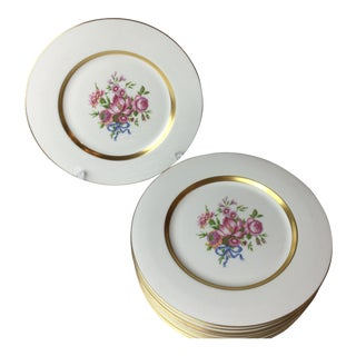 Vintage Haviland New York Kenmore China Plates - Set of 10 For Sale