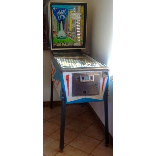 Mid-Century Williams Magic City Pinball Machine - Image 9 of 10