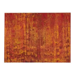 The Red Forest Modern Abstract For Sale