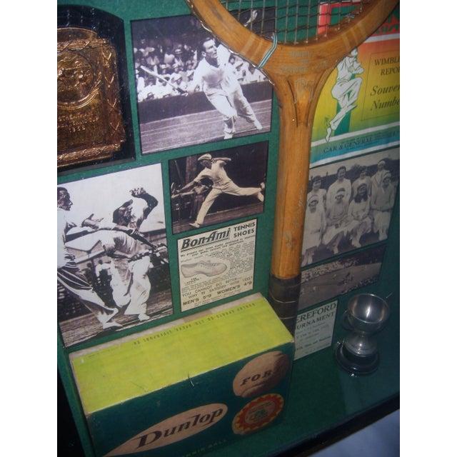 English Tennis Shadow Box - Image 5 of 7