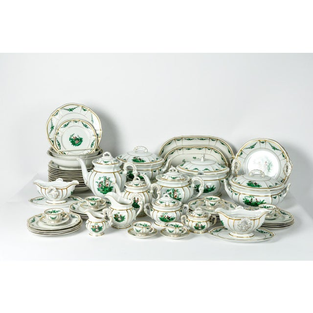 Antique English Dinnerware Service - Set of 67 For Sale - Image 9 of 9