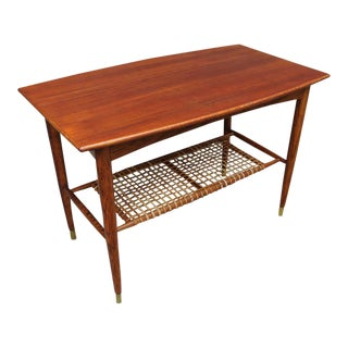 Folke Ohlsson Two-Tier Table for Dux For Sale