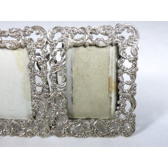1890s Antique Sterling Silver Picture Frame Chairish
