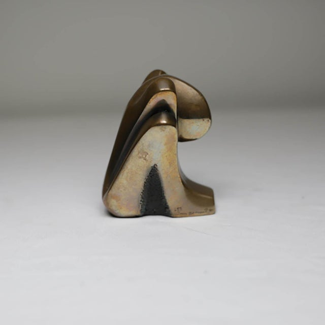 Tom Bennett Small Signed Bronze, circa 1980 by Tom Bennet For Sale - Image 4 of 7
