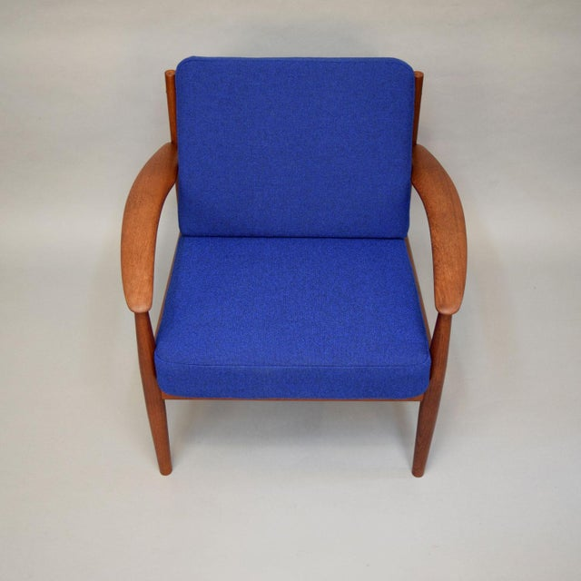 Grete Jalk for France & Son Lounge Chairs - A Pair For Sale In Portland, ME - Image 6 of 11