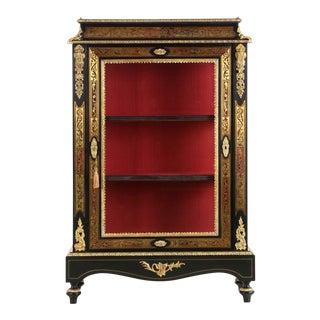 French Napoleon III Style Ebonized Cabinet