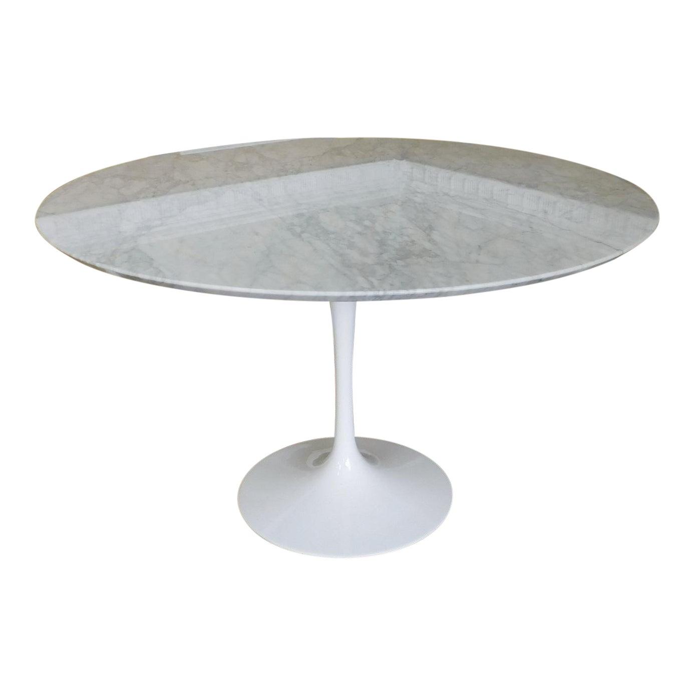 Room & Board Eero Saarinen Collection Carrara Marble Top 48