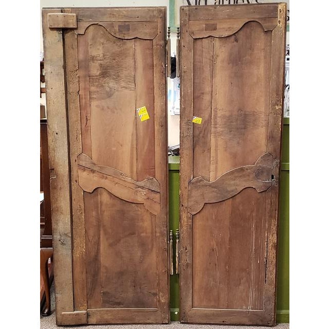 Pair of Mid 19th Century French Walnut Door Panels C.1850s For Sale - Image 12 of 13