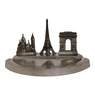 Vintage Paris Souvenir Ashtray Catchall