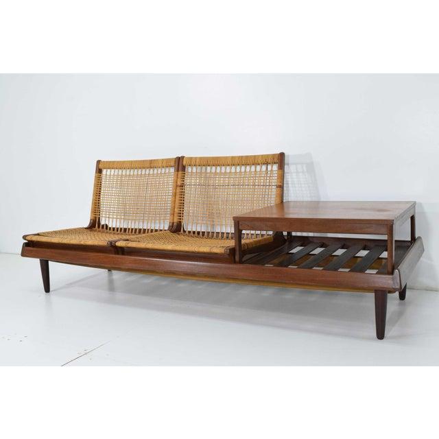 1950s Vintage Modular Bench Model 161 Designed by Hans Olsen for Bramin For Sale - Image 11 of 13