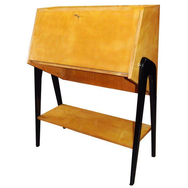 Brown Bureau by Alfred Hendrickx For Sale - Image 8 of 8