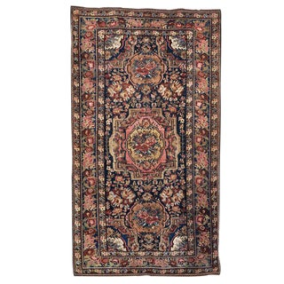"Antique ""Gol Farang"" Rug For Sale"