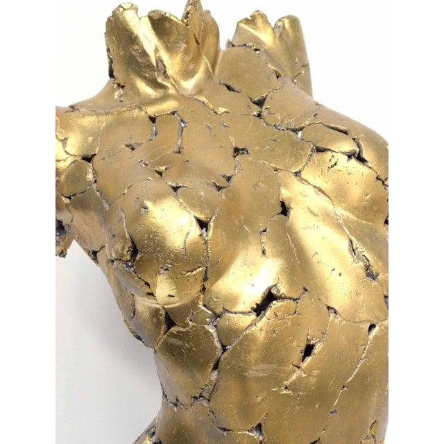 Brutalist Life Size Female Torso Sculpture For Sale - Image 9 of 10
