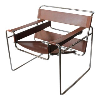 Marcel Breuer for Knoll Vintage Wassily Lounge Chair