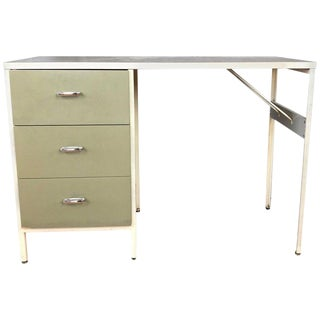 George Nelson for Herman Miller Model 4111 Steelframe Desk For Sale