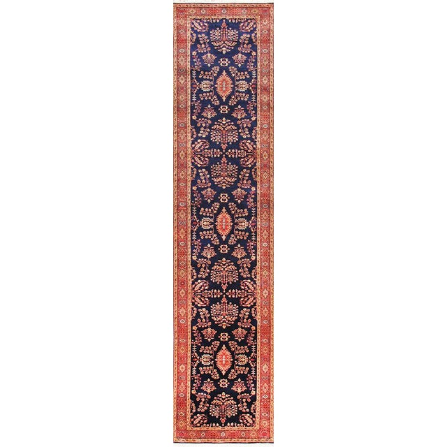 Traditional Pasargad Sarouk Runner - 2′7″ × 11′6″ - Image 1 of 2