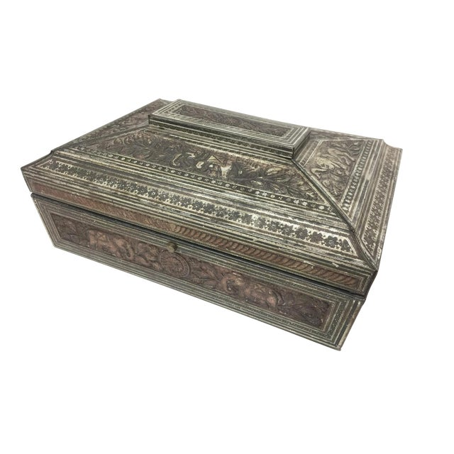 Huntley & Palmer Victorian Style Biscuit Tin - Image 1 of 5