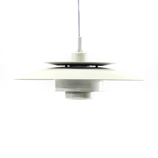 Denmark 1970s Simon P. Henningsen for Lyskaer Belysning Pendant Light For Sale - Image 10 of 10