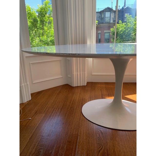 Mid-Century Modern Mid-Century Modern Eero Saarinen Tulip Dining Table For Sale - Image 3 of 7