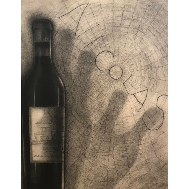 Date: 1930s Size: 9.5 x 12.5 inches Artist: Iribe, Paul Paul Iribe's lithographic prints for the wine importer Nicolas,...