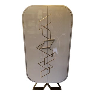 Contemporary Kelly Hoppen Sting Bar Cabinet For Sale