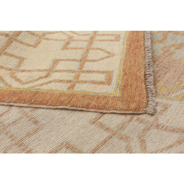 """Classic Hand-Knotted Rug, 8'6"""" X 11'1"""" For Sale - Image 4 of 6"""