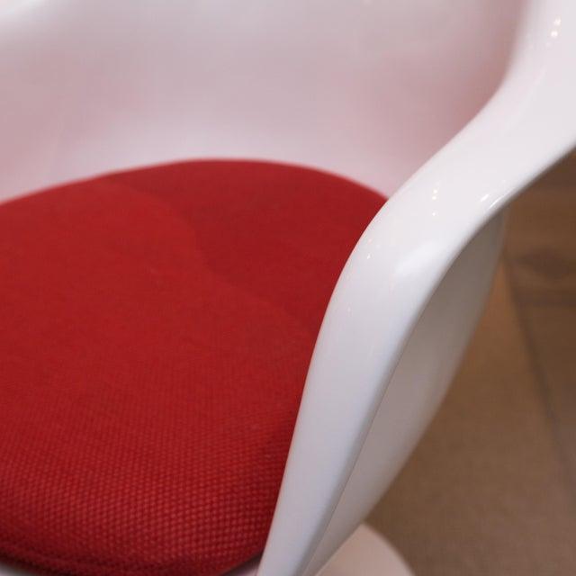 Saarinen Style Tulip Chairs - Set of 4 - Image 2 of 6