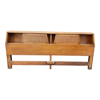 Mid-Century Modern American of Martinsville King Size Headboard For Sale