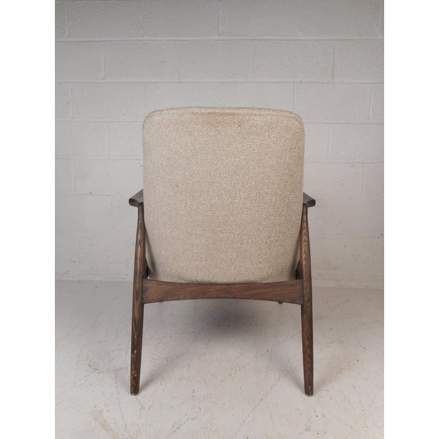 Contemporary Modern Lounge Chair For Sale - Image 4 of 10