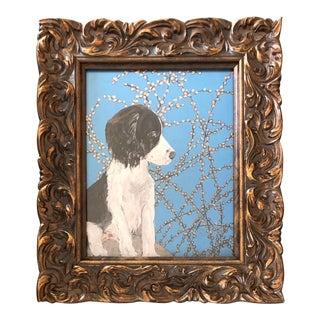Springer Spaniel Dog Print by Judy Henn For Sale