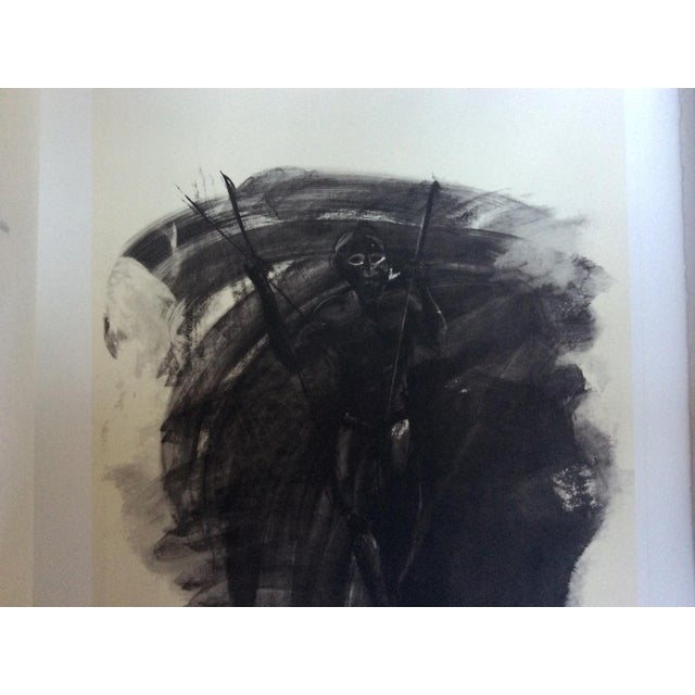 """1990s Thierry Despont Lithograph Portfolio of Rimbaud's Poem """"Le Bateau Ivre"""" For Sale - Image 5 of 10"""