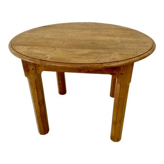 20th Century Arts & Crafts Cotswold School Oak Center Table For Sale