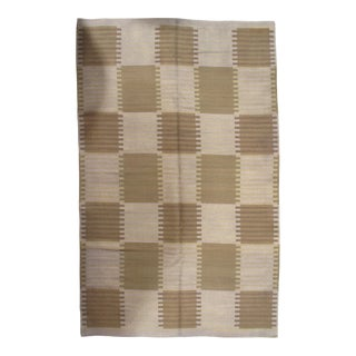 Pasargad NY Scandinavian Design New Zealand Overdyed Wool Rug - 5′8″ × 9′