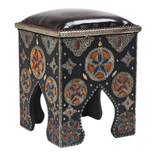 Prestige Moorish Tabouret Stool For Sale