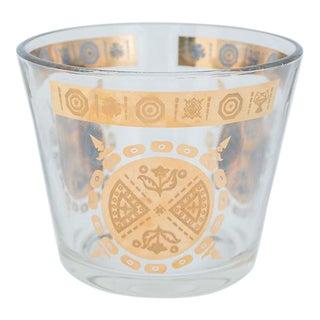 Vito Bari Hollywood Regency Glass Ice Bucket