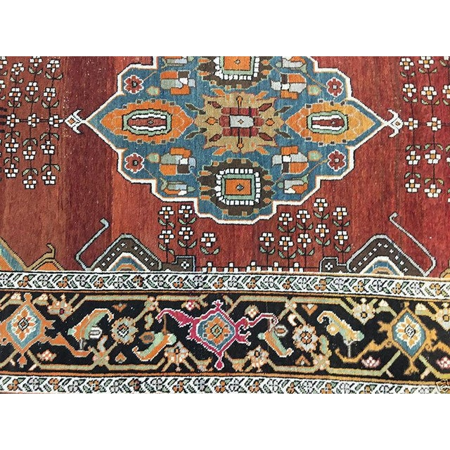 "Antique Caucasian Karabagh Rug - 4'8"" x 7'2"" - Image 3 of 5"