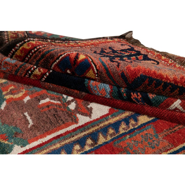 Mid-20th Century Vintage Wool Rug 4' 5'' X 8' 8''. For Sale - Image 9 of 13