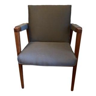 Mid Century Modern Gunlocke Side Chair For Sale