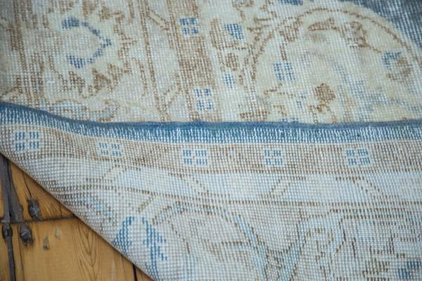 Distressed Blue Oushak Area Rug 7 2 Quot X 10 9 Quot Chairish