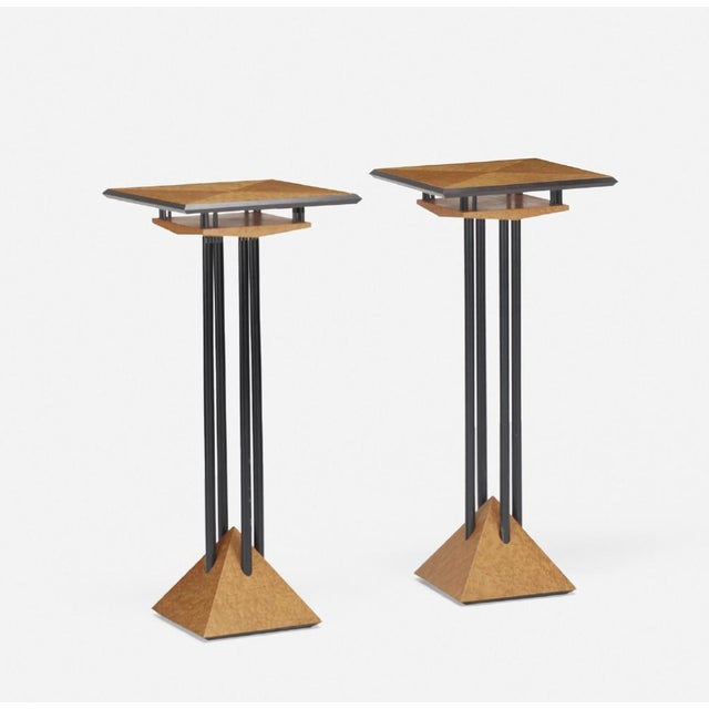 Modern Plant Stands - A Pair - Image 2 of 8