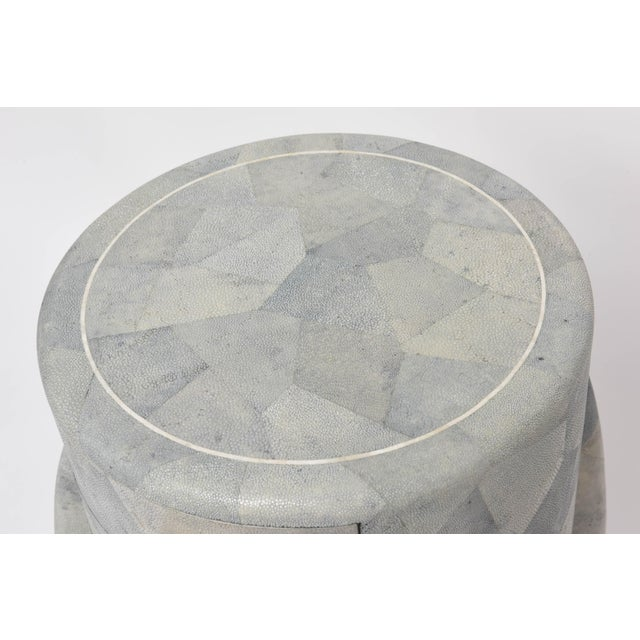 Contemporary Diminutive Patchwork Shagreen Chest of Drawers by Maitland-Smith For Sale - Image 3 of 11