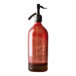 1940s Country Liter Blush Seltzer For Sale